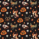Halloween Pattern by siins