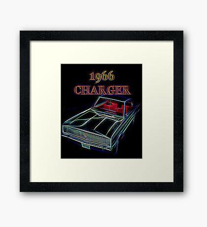1966 Dodge Charger Framed Print