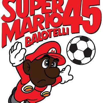 Super Mario Balotelli by footees