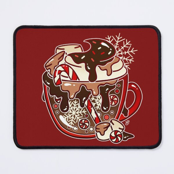 Glass Hot Chocolate Mouse Pad