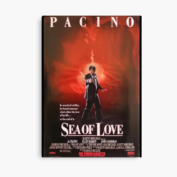 Sea of Love Poster Canvas Print
