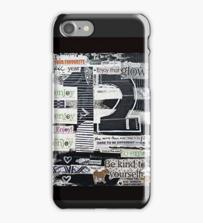 12 - Epic, Happy, Enjoy! iPhone Case/Skin