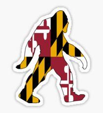 Maryland Bigfoot Sticker