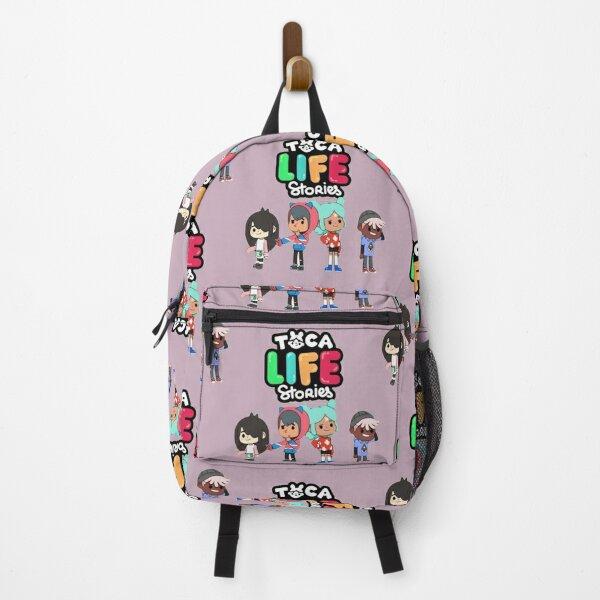Toca boca stories for kid- Backpack