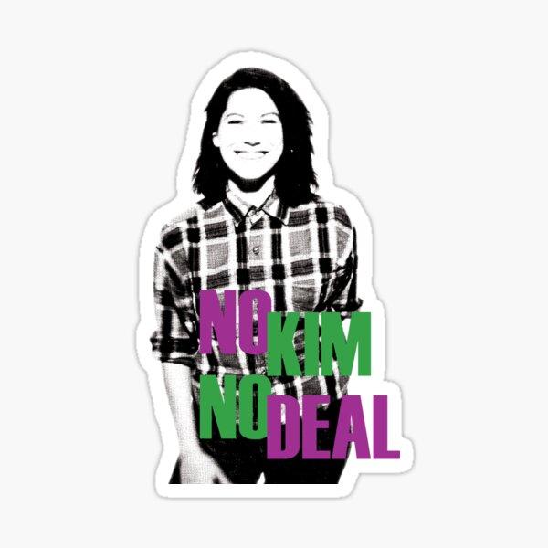 No Kim No Deal Sticker