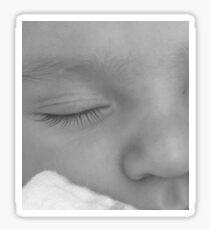 Sleeping Baby Sticker
