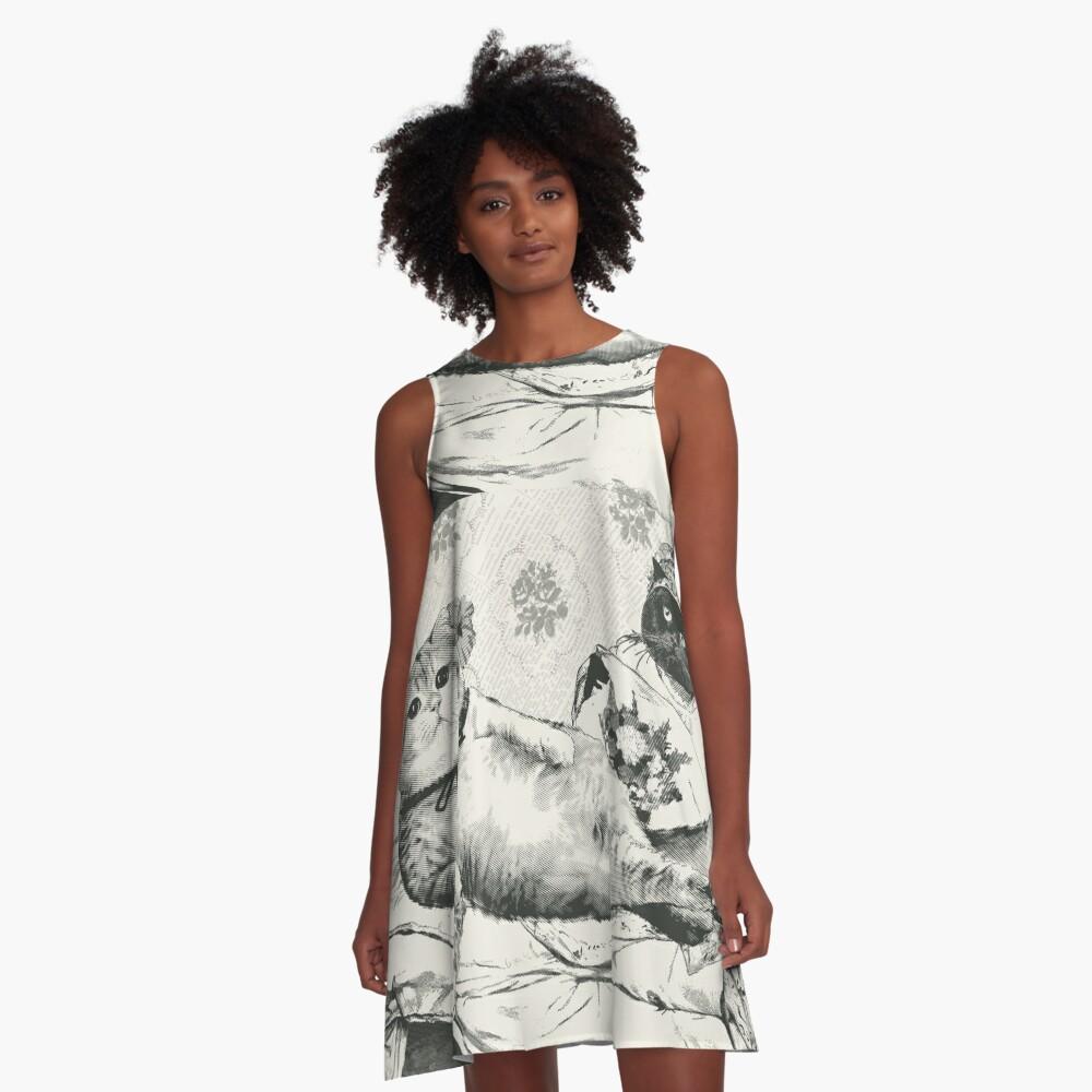 Olympia A-Linien Kleid
