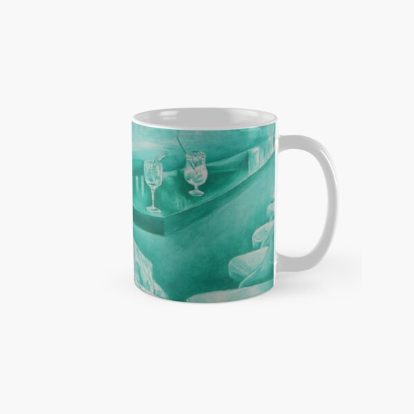 Green Marquise (Pompadour at the bar) Classic Mug