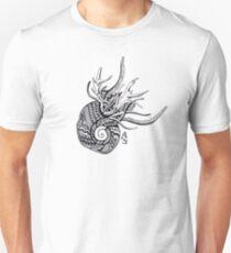 Abstract snail Unisex T-Shirt