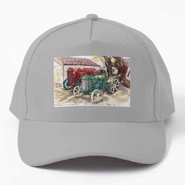 Australian Scene - Vintage Tractors  Baseball Cap