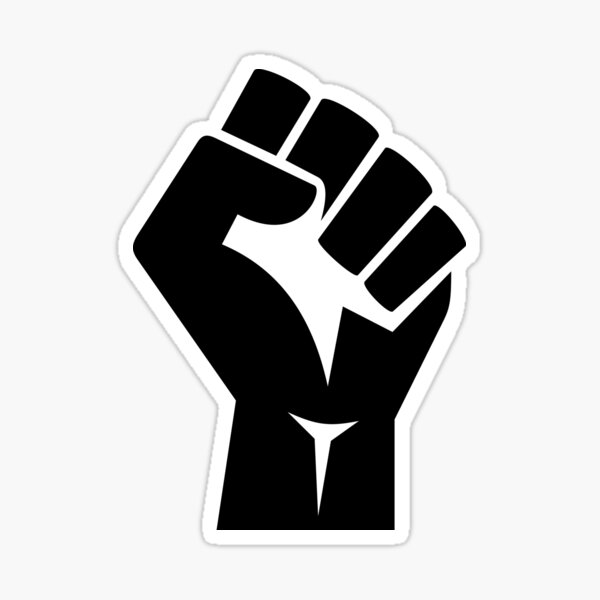 Raised Fist Sticker
