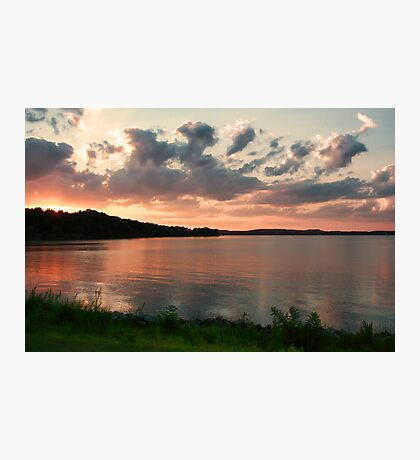 Sunset on The Bohemia River Photographic Print