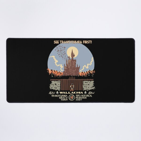 See Castlevania First! Castlevania Game Alucard hunter Belmont is played in the background of the symphony music of the night Retro Desk Mat