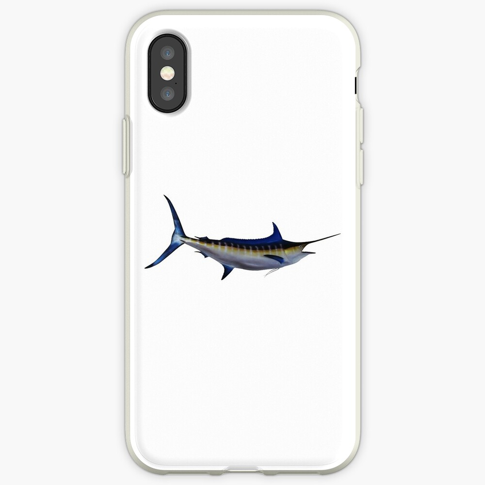 Blue Marlin Fish iPhone Case & Cover