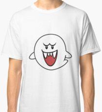 Super Mario Bros Boo Shape Design Classic T-Shirt