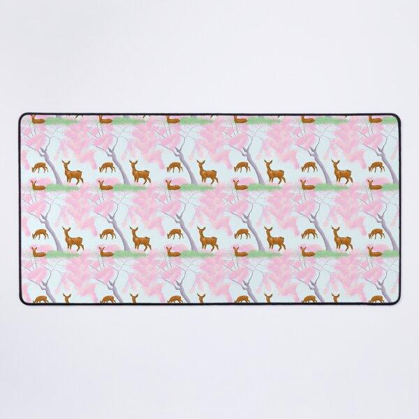 Nara Park Deer Pattern Desk Mat