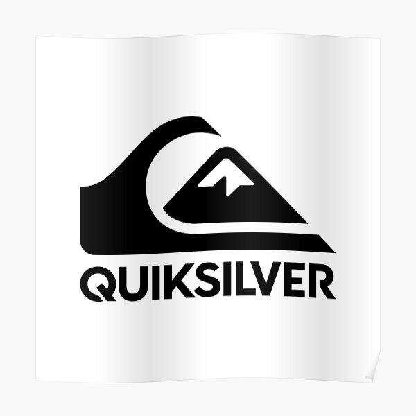 Best Sale !! Black quiksilv Logo Poster