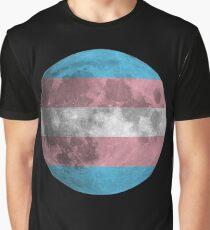 Trans* Moon Graphic T-Shirt