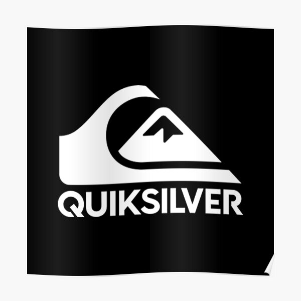 Copy of Best Sale !! Black quiksilv Logo Poster