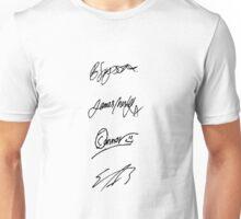 The Vamps signatures Unisex T-Shirt