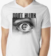 Dont Blink Men's V-Neck T-Shirt