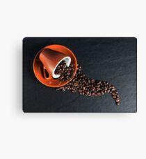 Fresh Coffee Beans Canvas Print