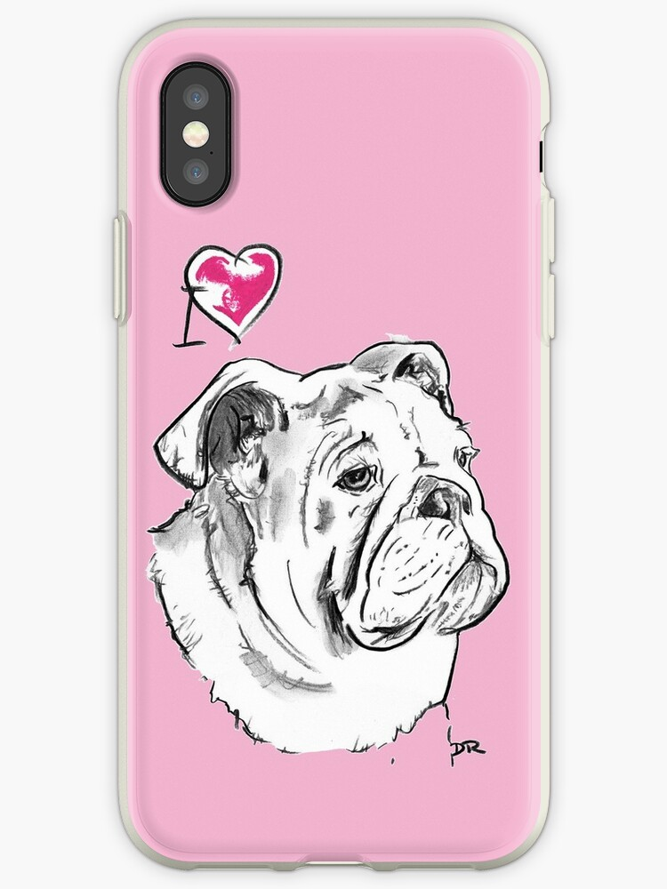 I Love My Bulldog by Douglas Rickard