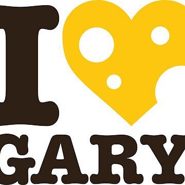 I love Gary by oakworm