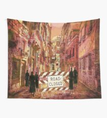 The pedestrians Wall Tapestry