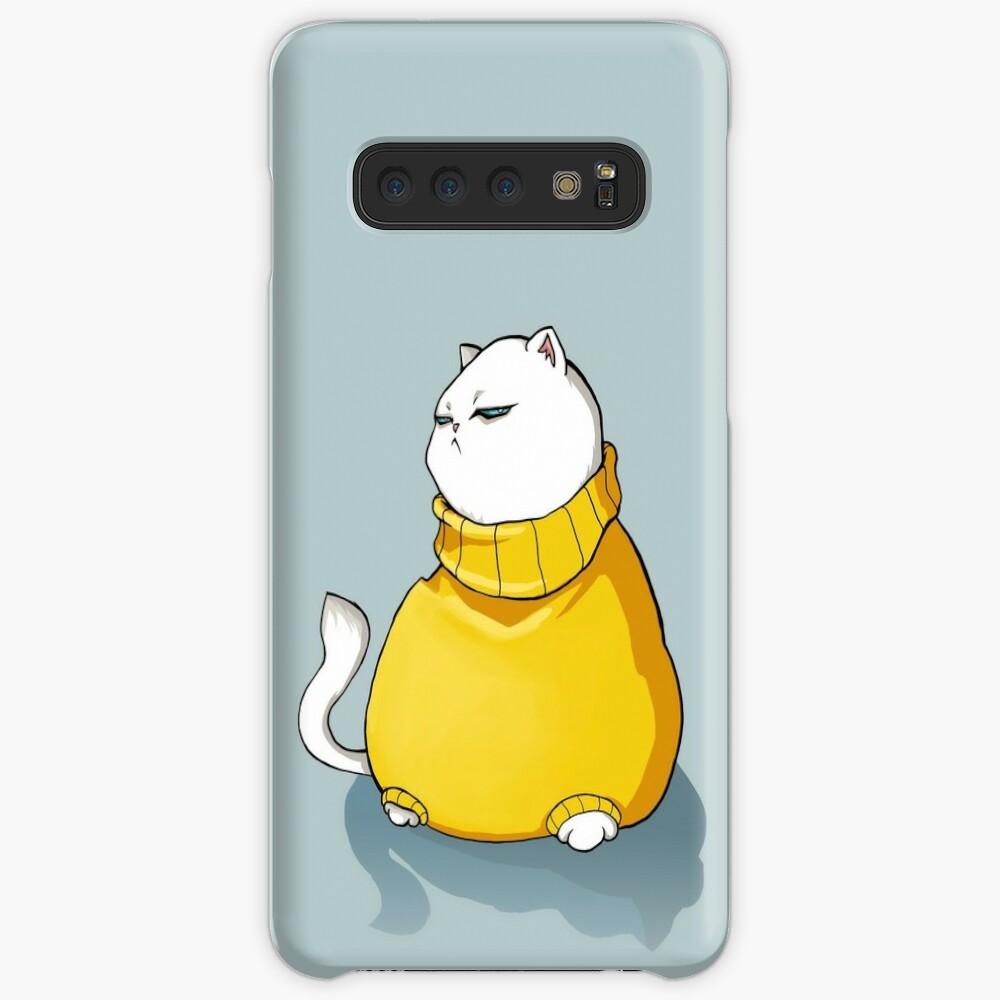 Grumpy fat cat Case & Skin for Samsung Galaxy
