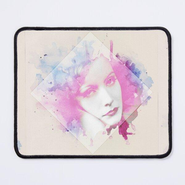 Watercolour Greta Garbo Mouse Pad