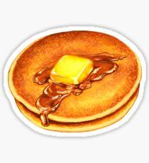 Pancakes Pattern - Blue Sticker