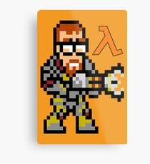 Gordon Freeman: Half Life Metal Print