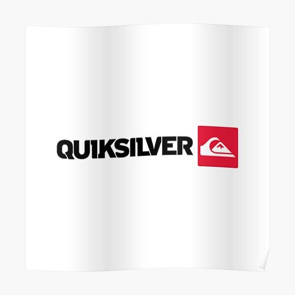 Best to Buy !! Quiksilvr Logo Poster