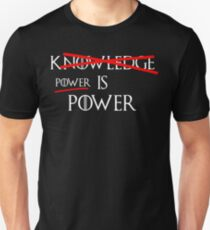 Knowledge Is Power T Shirts Redbubble