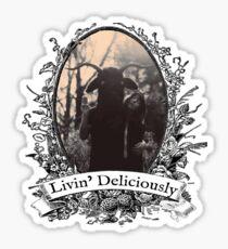 Livin' Deliciously Sticker