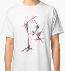 Red&blue Classic T-Shirt
