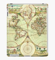 A new mapp of the world (1702) iPad Case/Skin