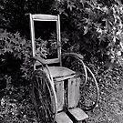 Old Wheelchair by Scott Mitchell
