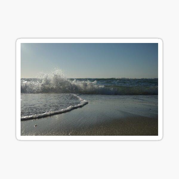 Wave splash Sticker