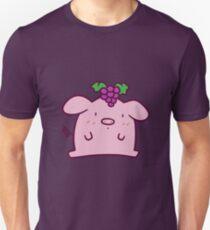Grapes Pig Unisex T-Shirt