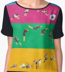 Simply Melee Poster One Women's Chiffon Top