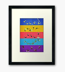 Simply Melee Poster Three Framed Print