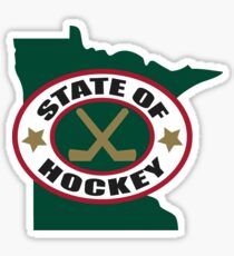 State of Hockey Sticker