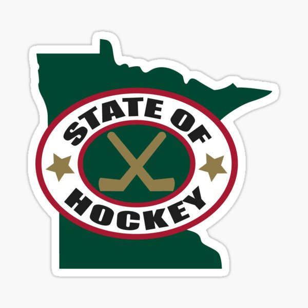 State of Hockey Sticker