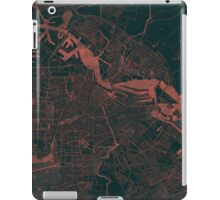 Amsterdam Map Red iPad Case/Skin
