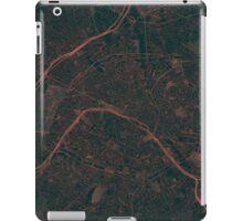 Paris Map Red iPad Case/Skin