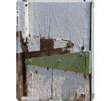 Barn Door Hinges 3 iPad Case/Skin