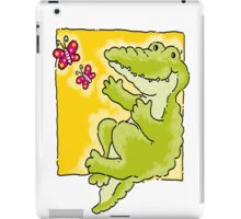 Green Crocodile iPad Case/Skin