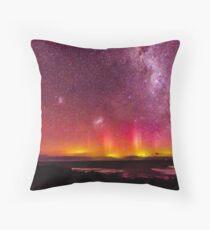 """Aurora Australis """"The Pedals"""" Throw Pillow"""